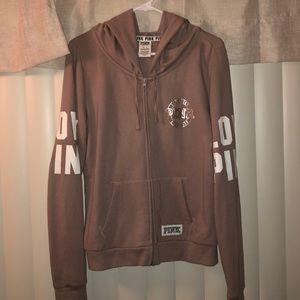 Gently used zip up hoodie